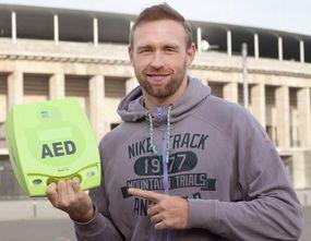 Olympiasieger und mehrfacher Welt- und Europameister im Diskuswerfen Robert Harting  Foto: ASB Berlin / Udo Hesse